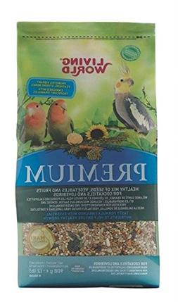 Living World Premium Cockatiel Mix, 2 Pounds