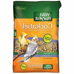 Wild Harvest Cockatiel Parrot Bird Food Advanced Nutrition D