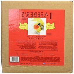 Lafeber cockatiel pellets 25 lbs