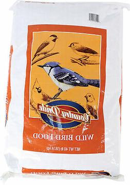 Country Pride All Natural Wild Bird Food Size: 40 Pound.