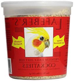 Premium Daily Diet for Cockatiels - Pellets - 1.25 lb.