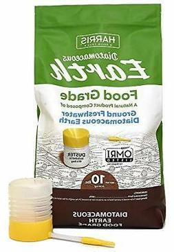 diatomaceous earth food grade 10lb powder duster