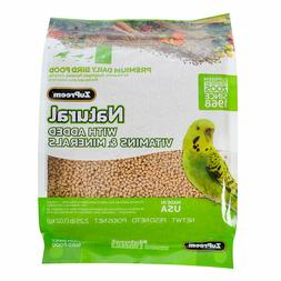 ZuPreem Natural Diet Bird Food Parakeet