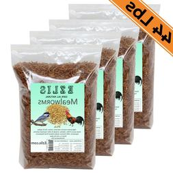 Dried Mealworms 44Lbs - Chickens Food Birds Treats Fish Rept