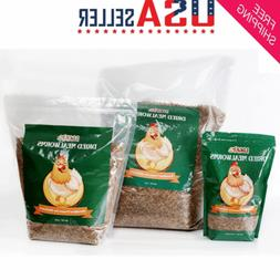 Dried Mealworms Bulk Non-GMO Organic for Wild Blue Bird Food