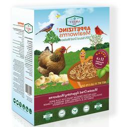 Dried Mealworms High Protein Non-GMO Bulk Food For Chicken,B