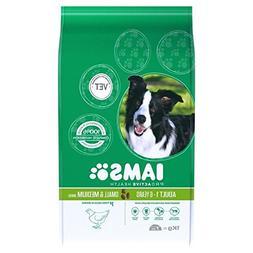 Iams Adult Dry Dog Food Small & Medium Breed 1kg