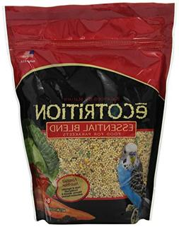 Ecotrition Essential Blend for Parakeets , 2 lbs