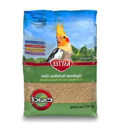 Kaytee Exact Natural Bird Food for Cockatiels, 3-Pound 3 Pou