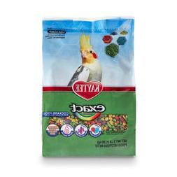 Kaytee Exact Rainbow Bird Food for Cockatiels 3-Pound