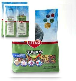 Kaytee Exact Rainbow Bird Food for Parrot and Conures, 4 lb