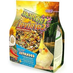 Tropical Carnival F.M. Brown's Bird Food for Cockatiels, Lov