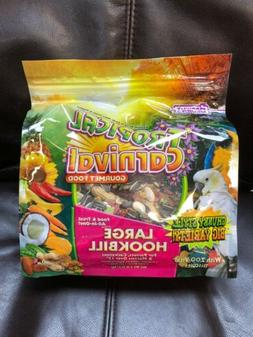 Tropical Carnival F.M. Brown's Gourmet Large Hookbill Food f