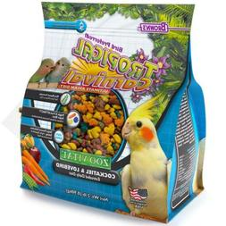 F.M. Brown'S Tropical Carnival Zoo-Vital Cockatiel & Lovebir