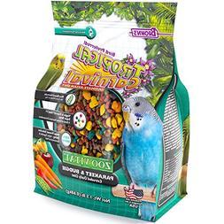 F.M. Brown'S Tropical Carnival Zoo-Vital Parakeet & Budgie P
