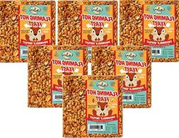 6-Pack of Mr. Bird Flaming Hot Feast Small Seed Cake 4 oz.