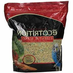 Ecotrition Food Essential Blend For Parakeets, 5 Pounds, Res