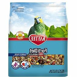 Kaytee Forti-Diet Pro Health with Safflower Parrot Food, 4 l