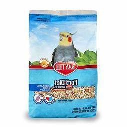 Kaytee Forti-Diet Pro Health Cockatiel food with Safflower,