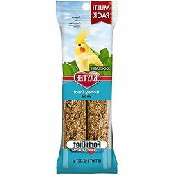 Kaytee Forti-Diet Pro Health Cockatiel Honey Treat Stick Val