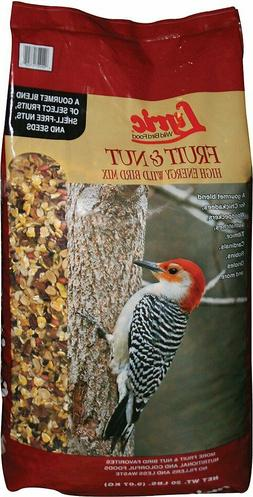 Lyric Fruit & Nut High Energy Wild Bird Food Mix 20 lb bag-