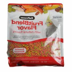ZuPreem FruitBlend Flavor Bird Food for Cockatiels Lovebird