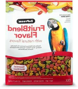 ZuPreem FruitBlend Flavor Bird Food for Macaws Amazons avail