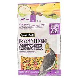 ZuPreem FruitBlend Flavor Bird Food for Medium Birds