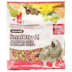 ZuPreem FruitBlend Flavor Bird Food for Parrots & Conures