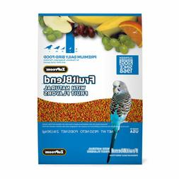 Zupreem Fruitblend Natural Fruit Flavors Daily Bird Food Par