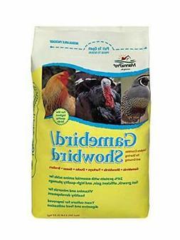 Manna Pro Gamebird/Showbird Crumbles, 5 lb
