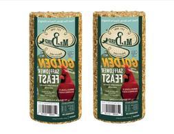 Mr. Bird 2-Pack Golden Safflower Small Seed Cylinder 25 oz.