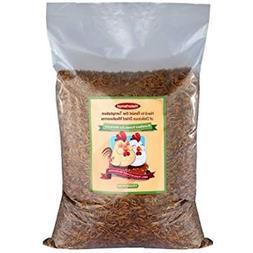 Hatortempt 11lbs Food Bulk Dried Mealworms For Wild Birds, C