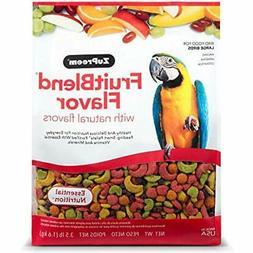 Zupreem Health Supplies Fruit Blend Diet For Large Birds, 3.