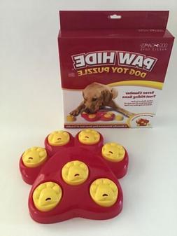 interactive dog toy treat big paw hide
