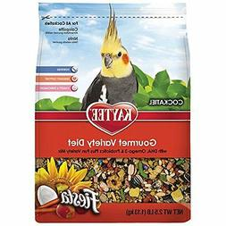 Kaytee Fiesta Max Bird Food for Cockatiels, 2-1/2-Pound, 1 P