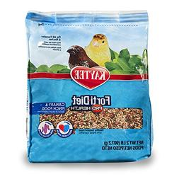 Kaytee Forti-Diet Pro Health Canary and Finch Food, 2 Pound