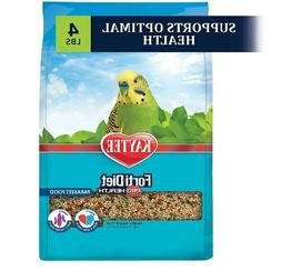 Kaytee Forti-Diet Pro Health Bird Food For Parakeets 4 Pound