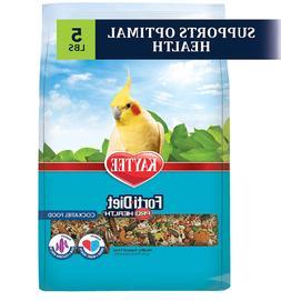 Kaytee Forti-Diet Pro Health Support Diet Cockatiel Bird Foo