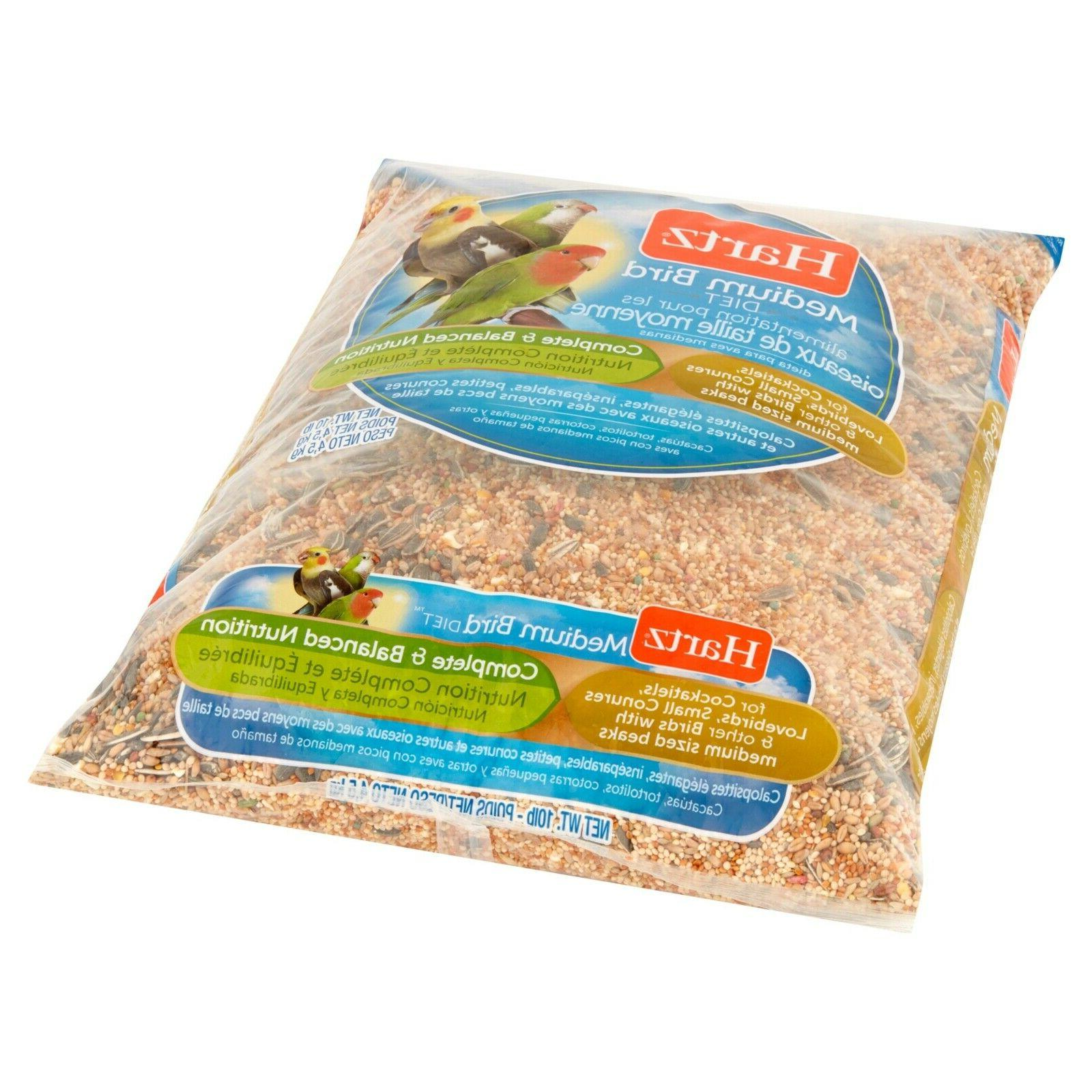 10 lbs medium bird food pet cockatiels
