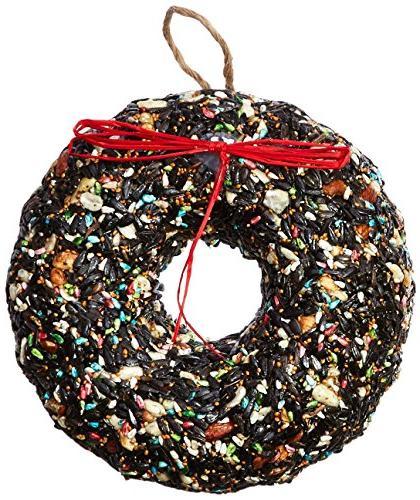 1351 holiday birdie wreath
