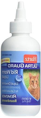 Hartz UltraGuard Rid Worm Liquid for Cats