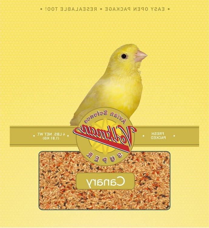 2 lb avian science super canary food