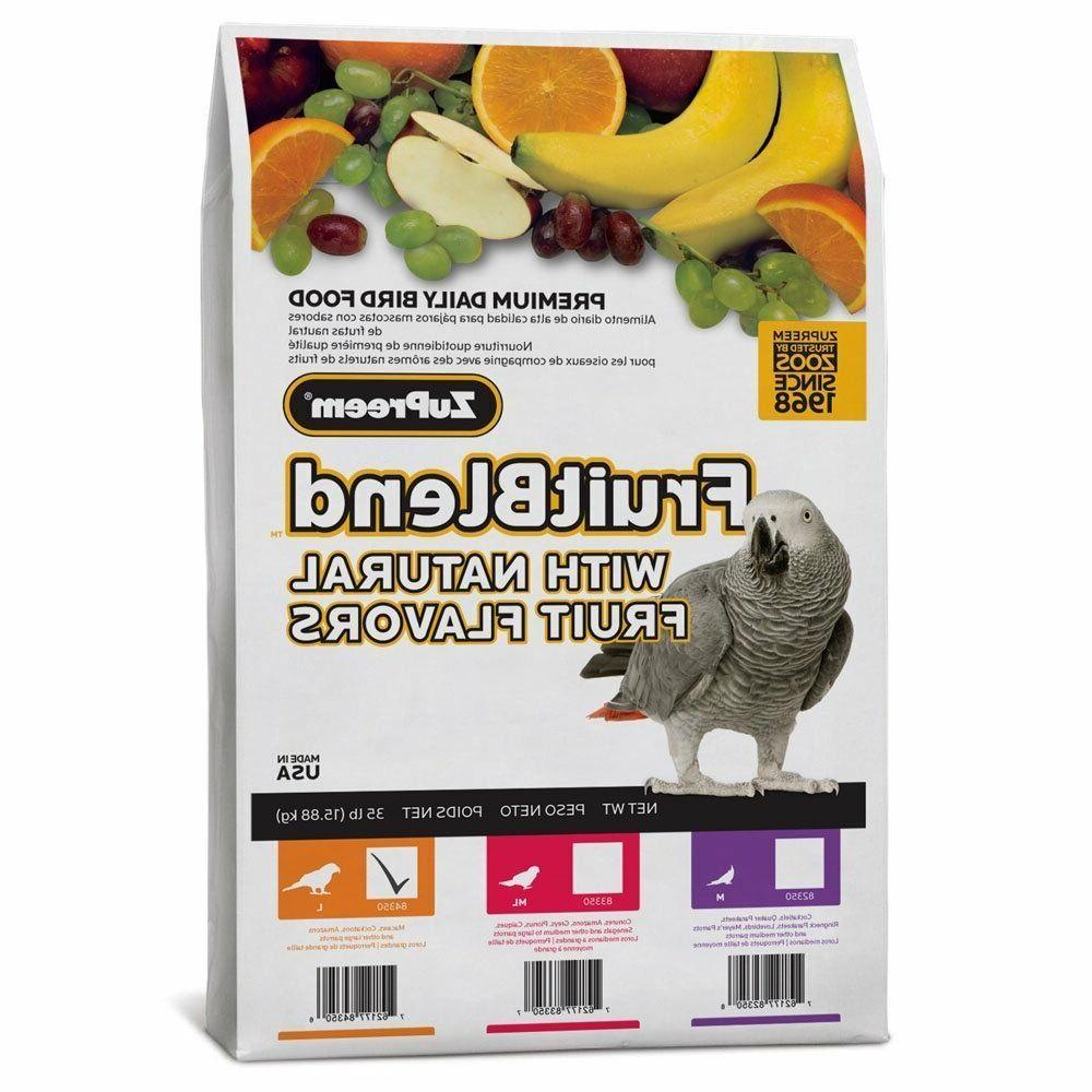 230342 fruitblend parrot food