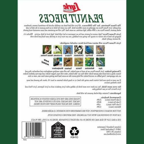 Lyric, 2647463 Peanut Pieces Wild Bird Food, lb, For Birds