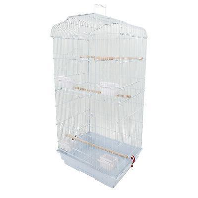 "37"" Bird Cage Parakeet Finch Bird Cup TX"