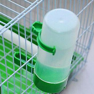 Aviary Parrot Finches Food Waterer Clip