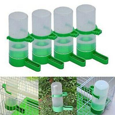 4 Pet Aviary Bird Finches Feeder Waterer