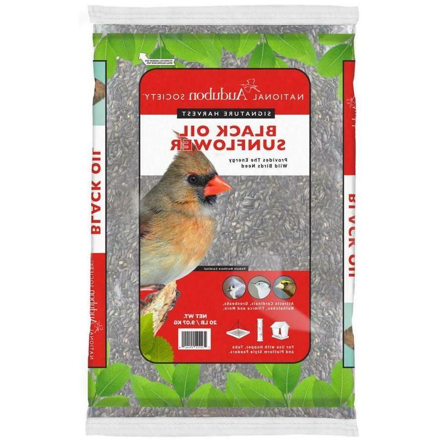 40-lb Black Oil Sunflower Seed Wildlife Bird Food National A
