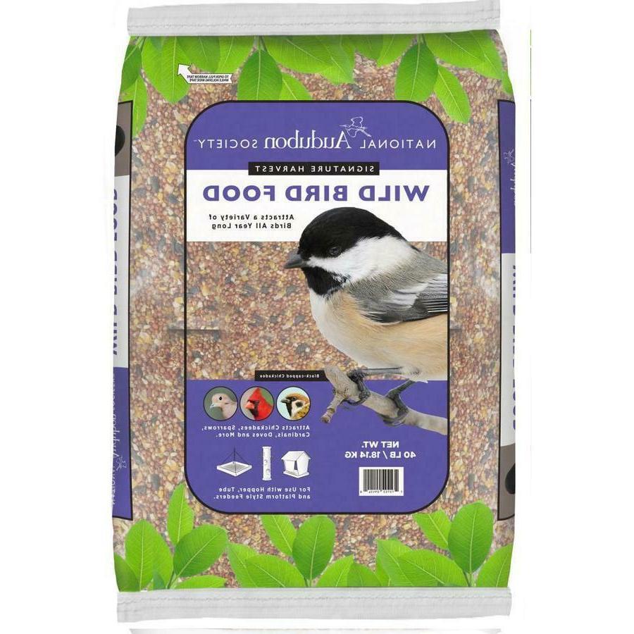 40 lb wild bird seed food sunflower